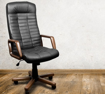What should you look for in a comfortable office chair?